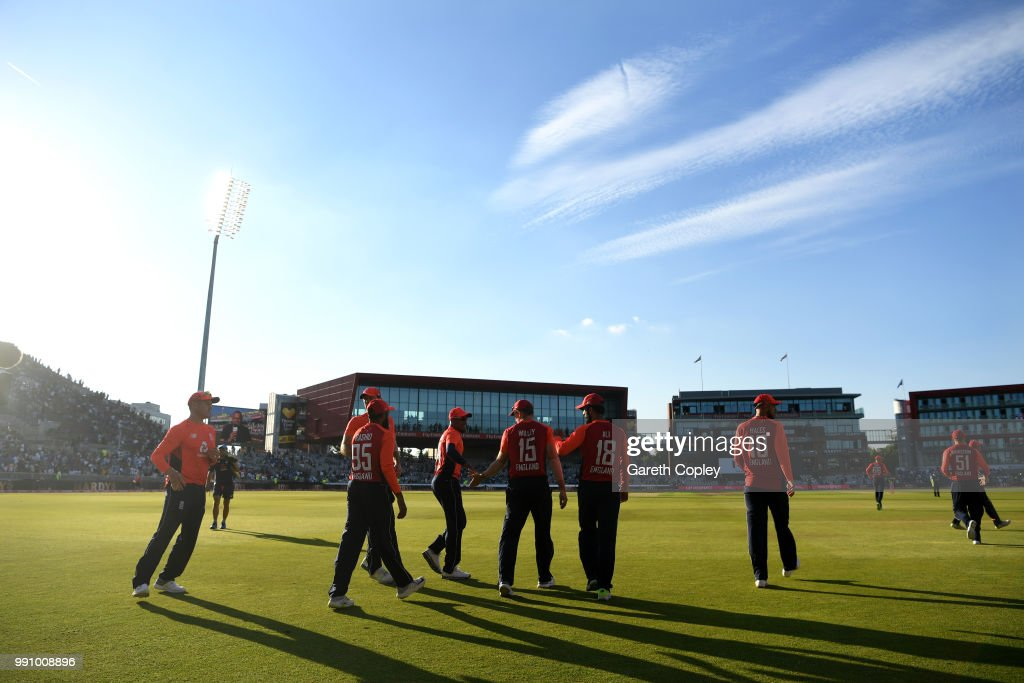 England v India - 1st Vitality International T20 : ニュース写真