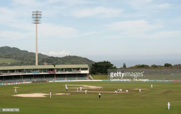England in the field against South African Invitational XI during a tour match at Buffalo Park, East London, South Africa.