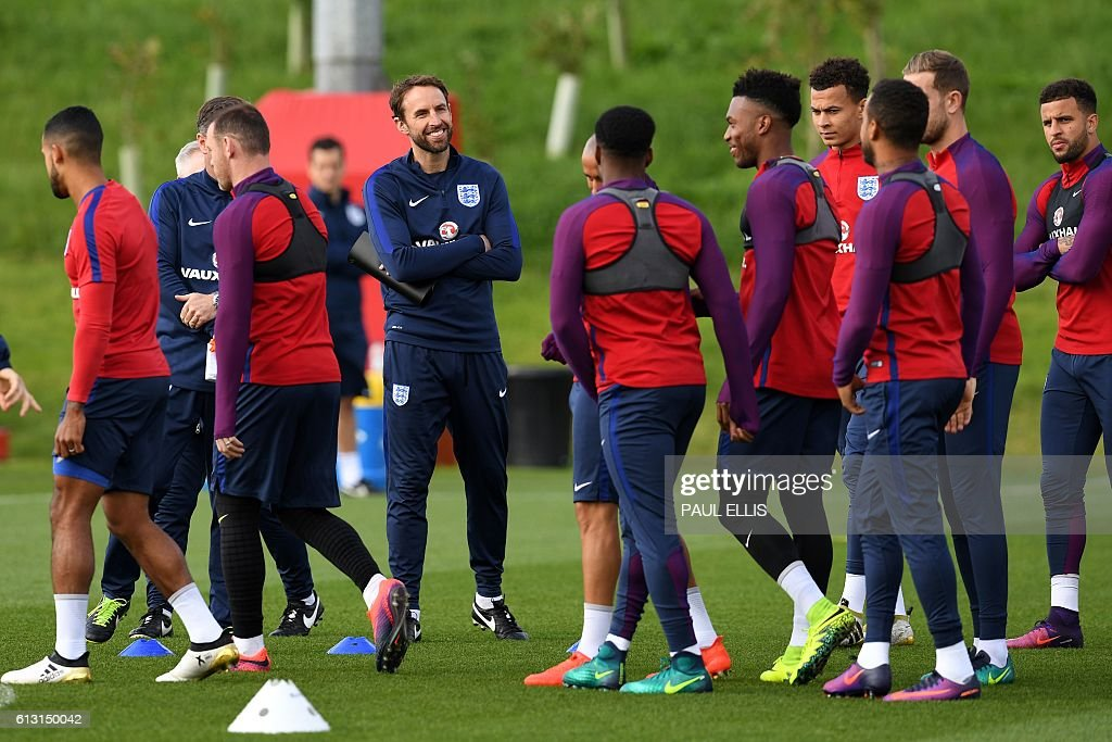 FBL-WC-2018-ENG-TRAINING : News Photo