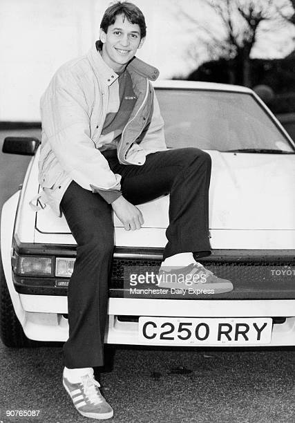 England international Gary Lineker poses with his Toyota car Gary Lineker began his career at his hometown of Leicester City in 1976 but rose to fame...