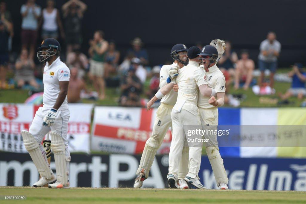 Sri Lanka v England: Second Test - Day Four : News Photo
