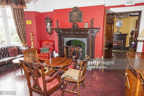 England, Kent, Broadstairs, Bleak House, The Lounge.