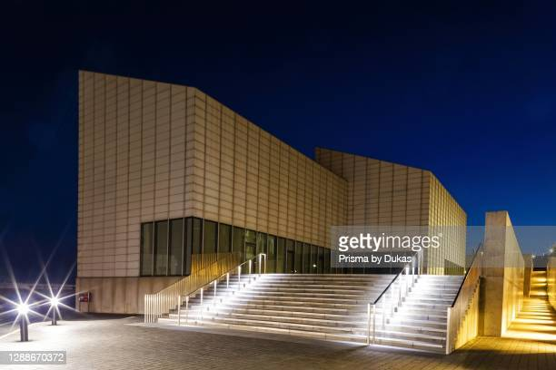 England, Kent, Margate, Turner Contemporary Gallery at Night.