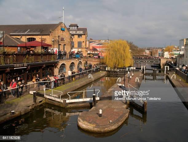 England, London, Camden flea market - Canal