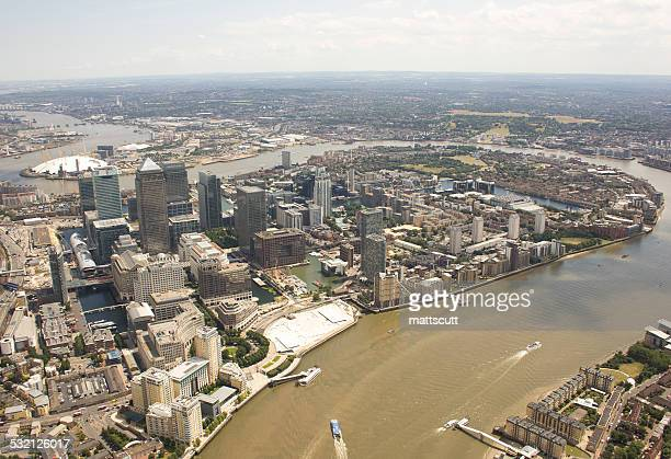 uk, england, london, canary wharf and greenwich - mattscutt stock pictures, royalty-free photos & images