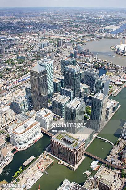 uk, england, london, canary wharf - mattscutt stock pictures, royalty-free photos & images