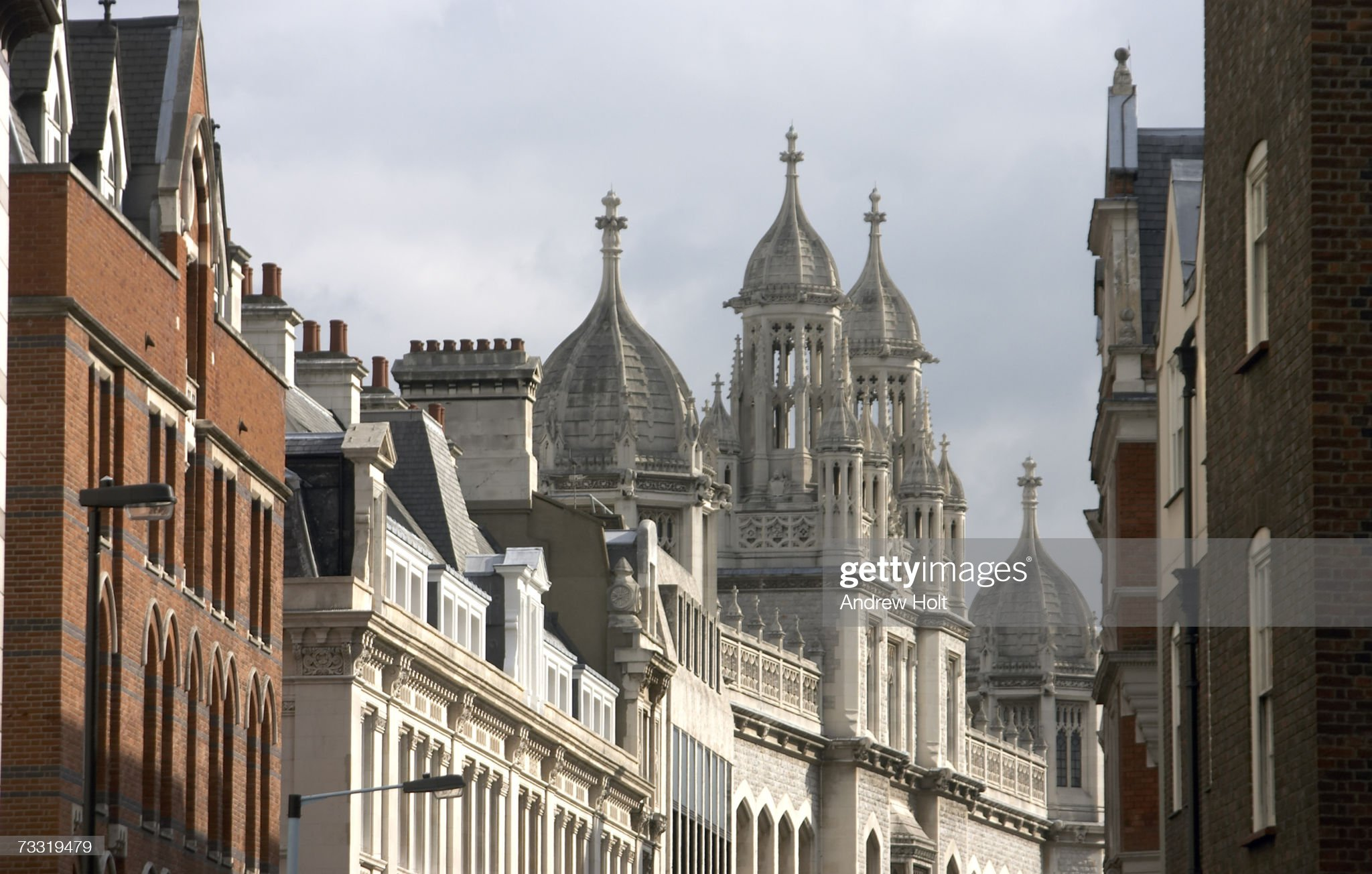 England, London, King's College, Maughan Library and Old Public Records Office : Stock Photo