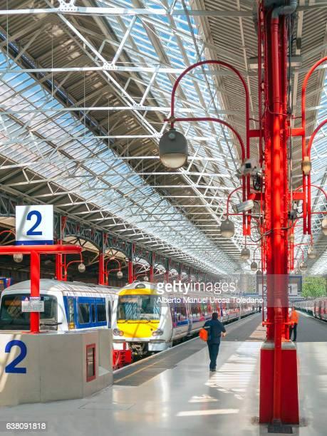 England, London, Marylebone train station