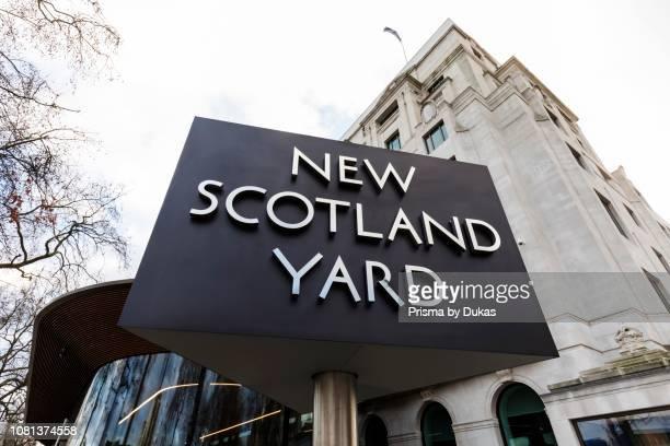 England, London, New Scotland Yard