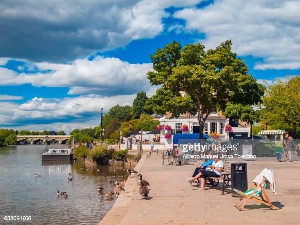 England, London, Richmond  Upon Thames and River