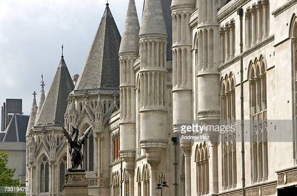 England, London, Royal Courts of Justice, close-up