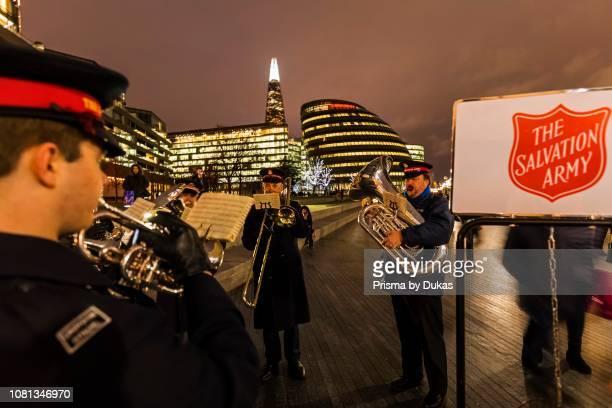 England London Southwark London Bridge City Salvation Army Band