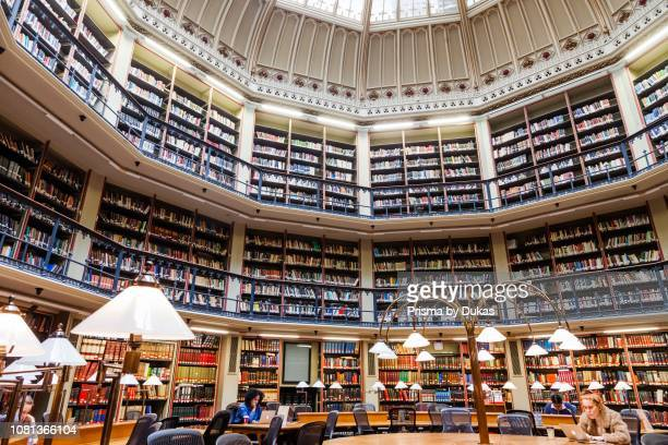 England London The City King's College The Maughan Library The Round Reading Room