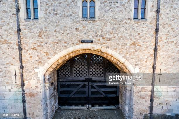 England London Tower of London Traitors Gate