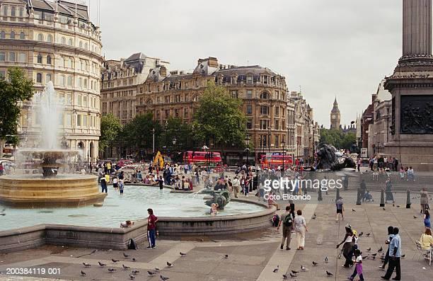 England, London, Trafalgar Square