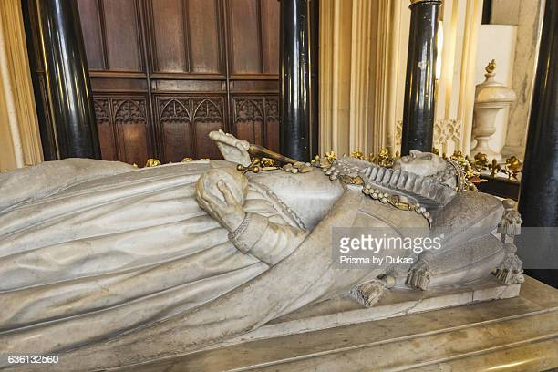 England London Westminster Abbey Henry VII 's Lady Chapel Tomb of Queen Elizabeth l