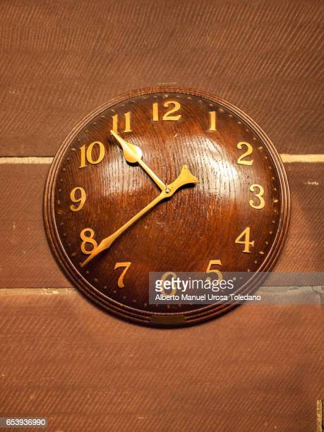 England, London, Wooden Clock