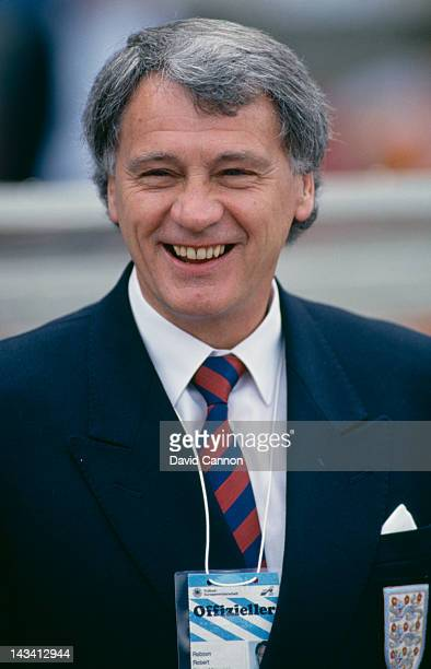 England manager Bobby Robson at the UEFA European Football Championship West Germany 10th25th June 1988