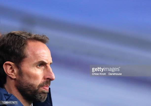 England Manager Gareth Southgate ahead of the UEFA Nations League group stage match between England and Iceland at Wembley Stadium on November 18,...