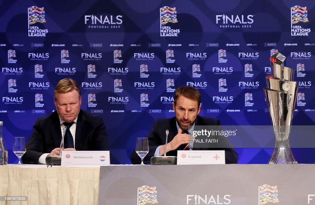 FBL-EUR-NATIONS-DRAW : News Photo