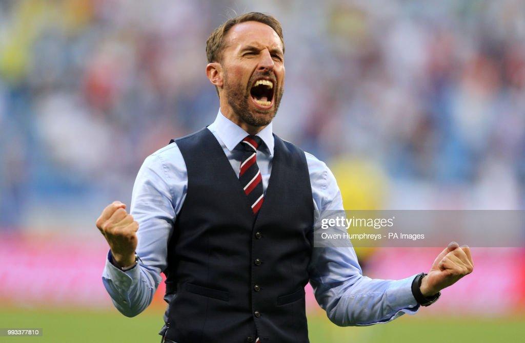 Sweden v England - FIFA World Cup - Quarter Final - Samara Stadium : News Photo