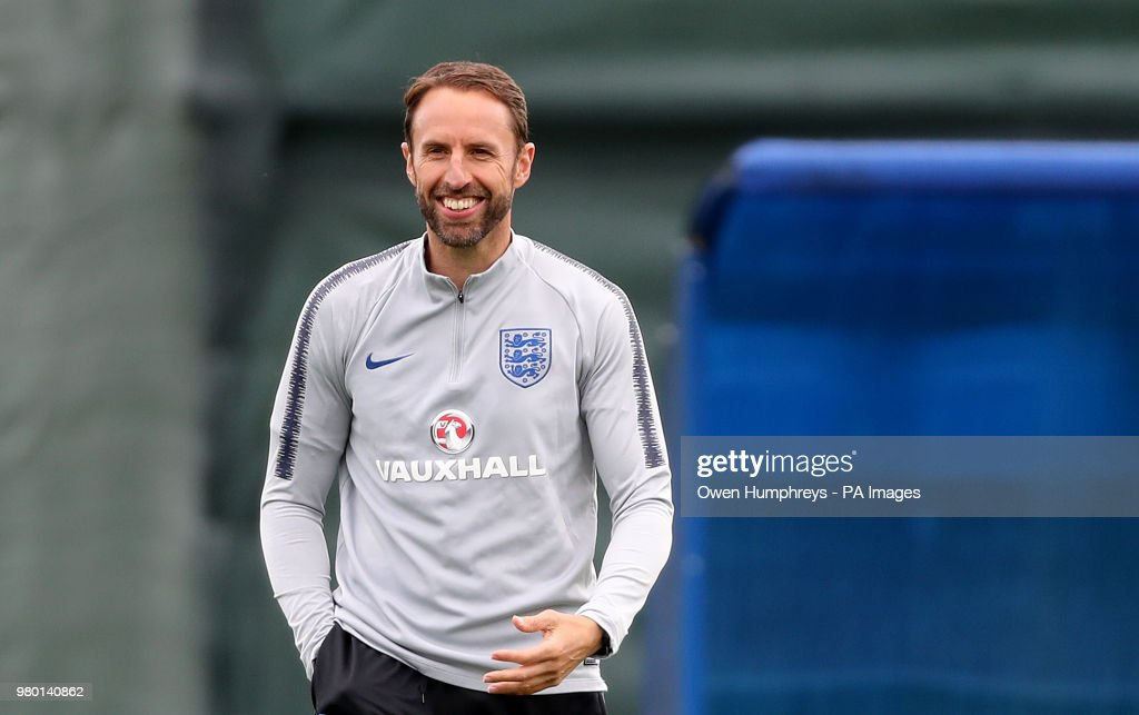 England - FIFA World Cup 2018 - Media Activity - 21st June : News Photo