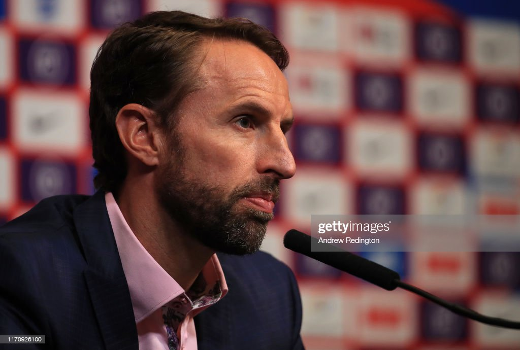 England Squad Announcement and Press Conference : News Photo
