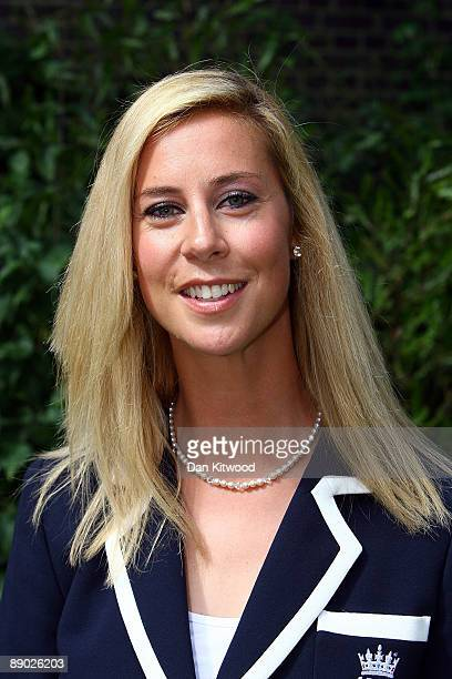 England manager Megan Smith of the England Women's Cricket Team poses for a picture at Downing Street on July 14 2009 in London England England...