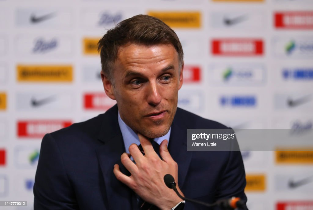 England 2019 FIFA Women's World Cup Squad Media Conference : News Photo