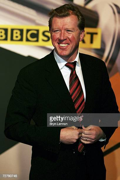 England Manager Steve McClaren arrives at the BBC Sports Personality of the Year Awards on December 10 2006 at the Birmingham NEC in Birmingham...