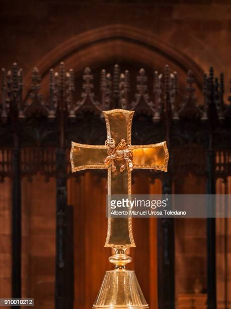 England, Manchester Cathedral, Holy Cross