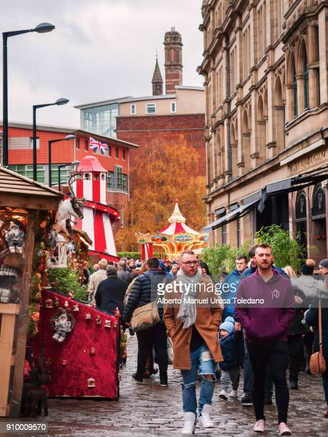 England, Manchester, Cathedral Street
