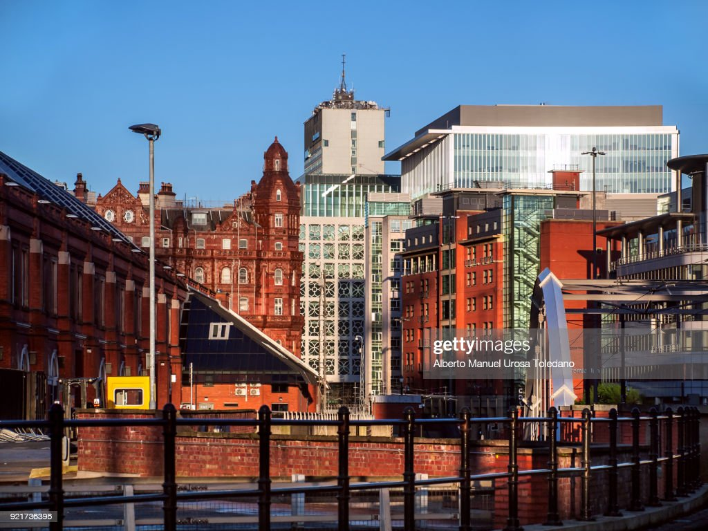 England, Manchester, Cityscape : Stock Photo