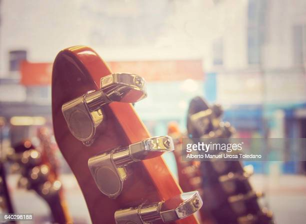 England, Manchester, Guitars