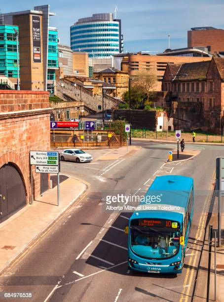 England, Manchester, Manchester Arena and Chapel st.