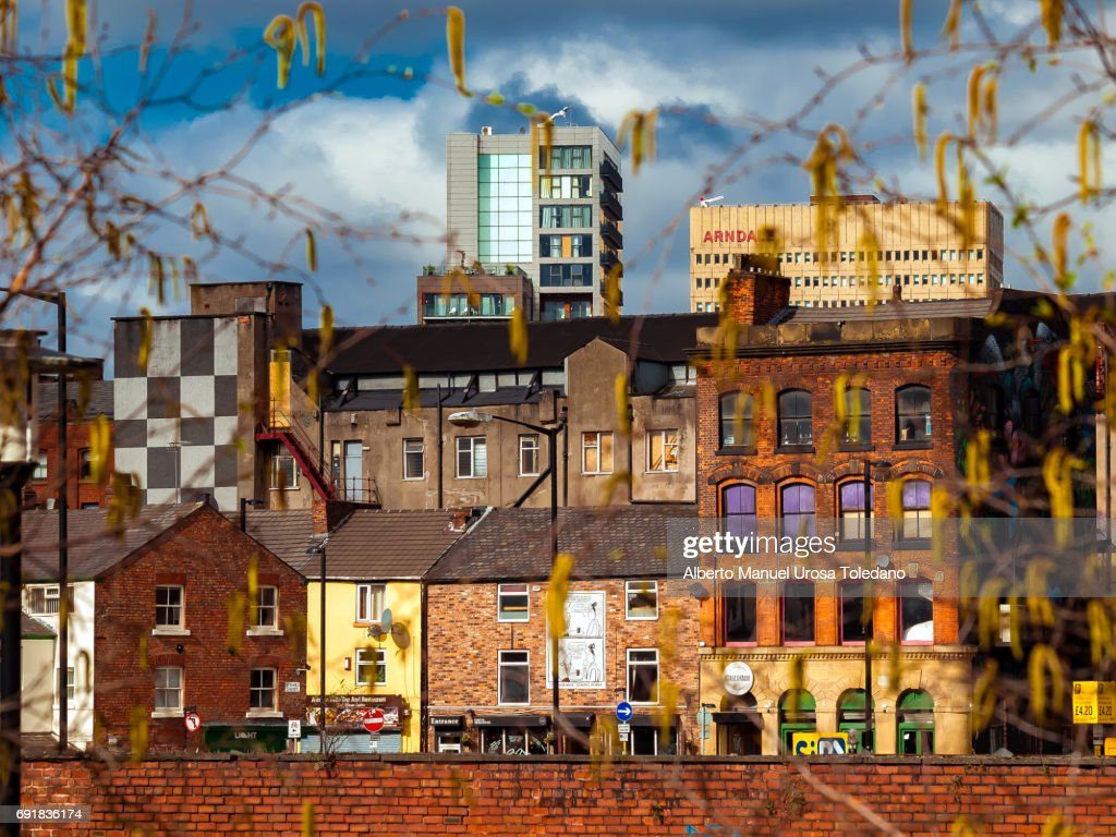 England, Manchester, Northern Quarter, Cityscape : Stock Photo