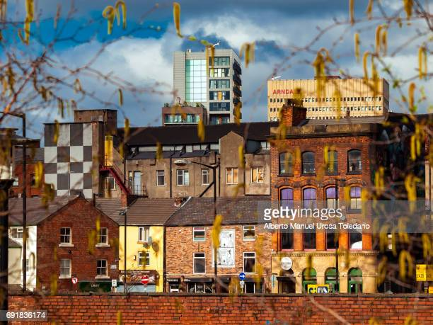 england, manchester, northern quarter, cityscape - manchester uk stock photos and pictures