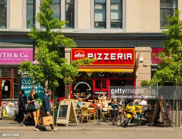 England, Manchester, Northern Quarter, Pizzeria