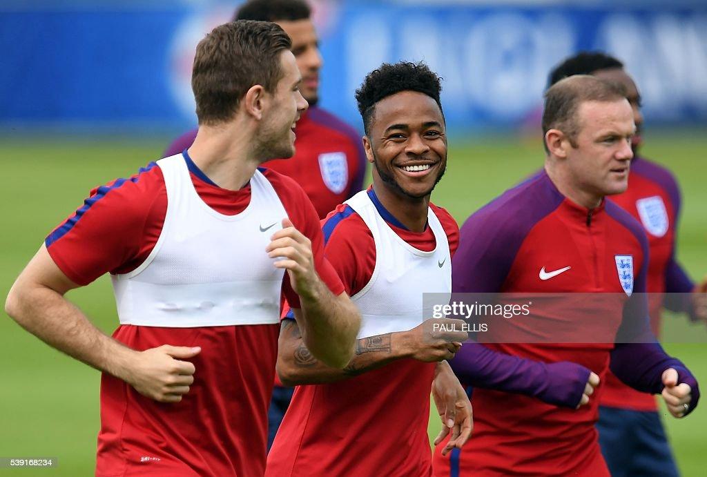 FBL-EURO-2016-ENG-TRAINING : News Photo