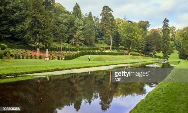 England Northyorkshirestudley Royal Park In Fountains Abbey Studley Royal Gardens Water Garden For John Aislabie 1718 River Skell