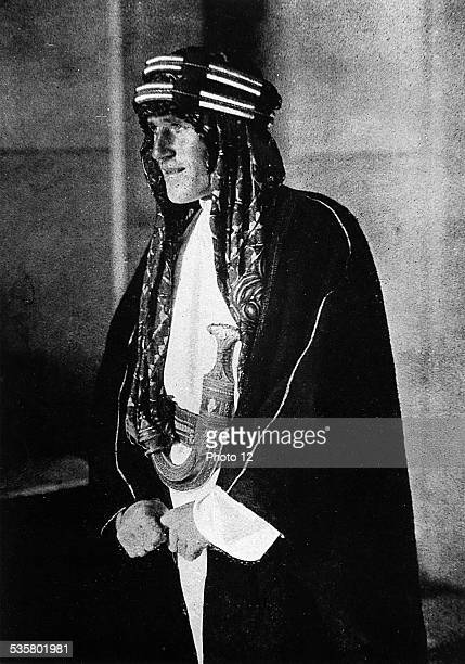 England Officer and writer Thomas Edward Lawrence known as Lawrence of Arabia This image is not downloadable Contact us for the high res