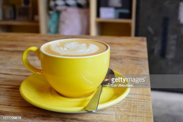 England Oxford artisan roast coffee at The Bear and Bean cafe Cowley Road