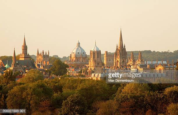 England, Oxford, city skyline