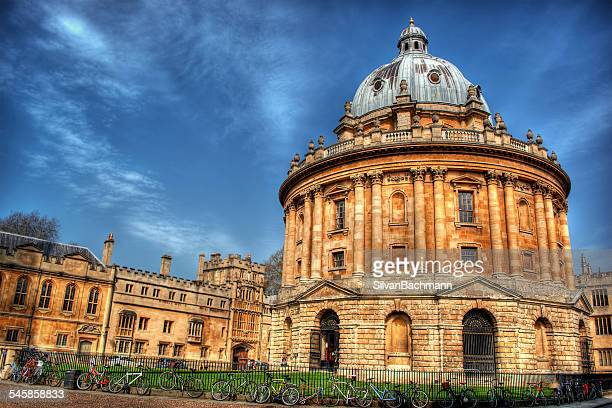 UK, England, Oxford, Low angle view of Radcliffe Camera