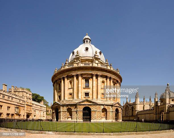 England, Oxford, Radcliffe Camera, summer (wide angle lens)