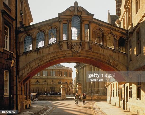 England, Oxfordshire, Oxford, New College Lane, Bridge of Sighs