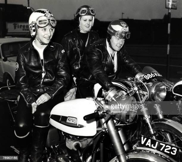 30th May 1964 A group of Rockers at Stratford in East London Rockers were motor cycle enthusiasts wearing leather and with no real regard for their...