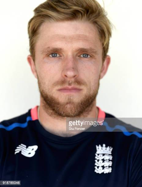 England player David Willey pictured after England practice at Seddon Park on February 16 2018 in Hamilton New Zealand