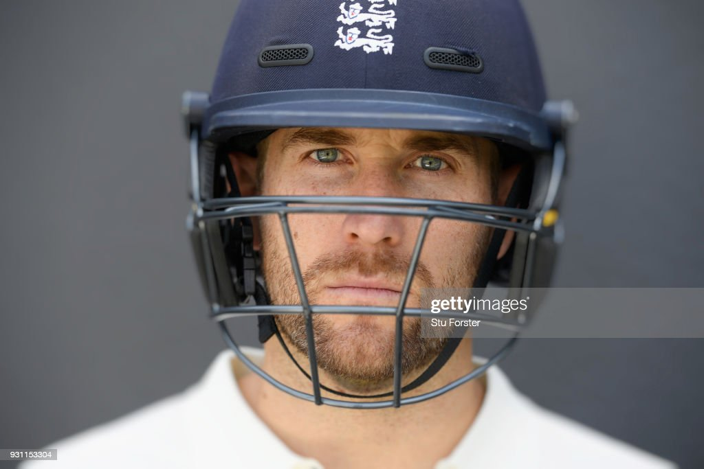 England player Dawid Malan pictured during England nets ahead of their first warm up match at Seddon Park on March 13, 2018 in Hamilton, New Zealand.