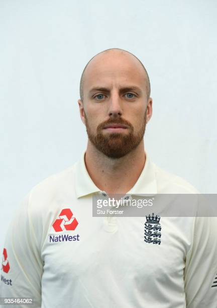 England player Jack Leach pictured during England nets ahead of the 1st Test Match against the New Zealand Black Caps at Eden Park on March 21 2018...